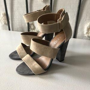 Aldo Suede Strappy Heels